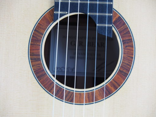 guitare classique Gypsy Rye Bear luthier lattice 18BEA018-09