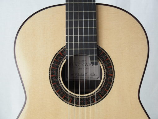 Martin Blackwell luthier guitare classique No 19BLA166-07