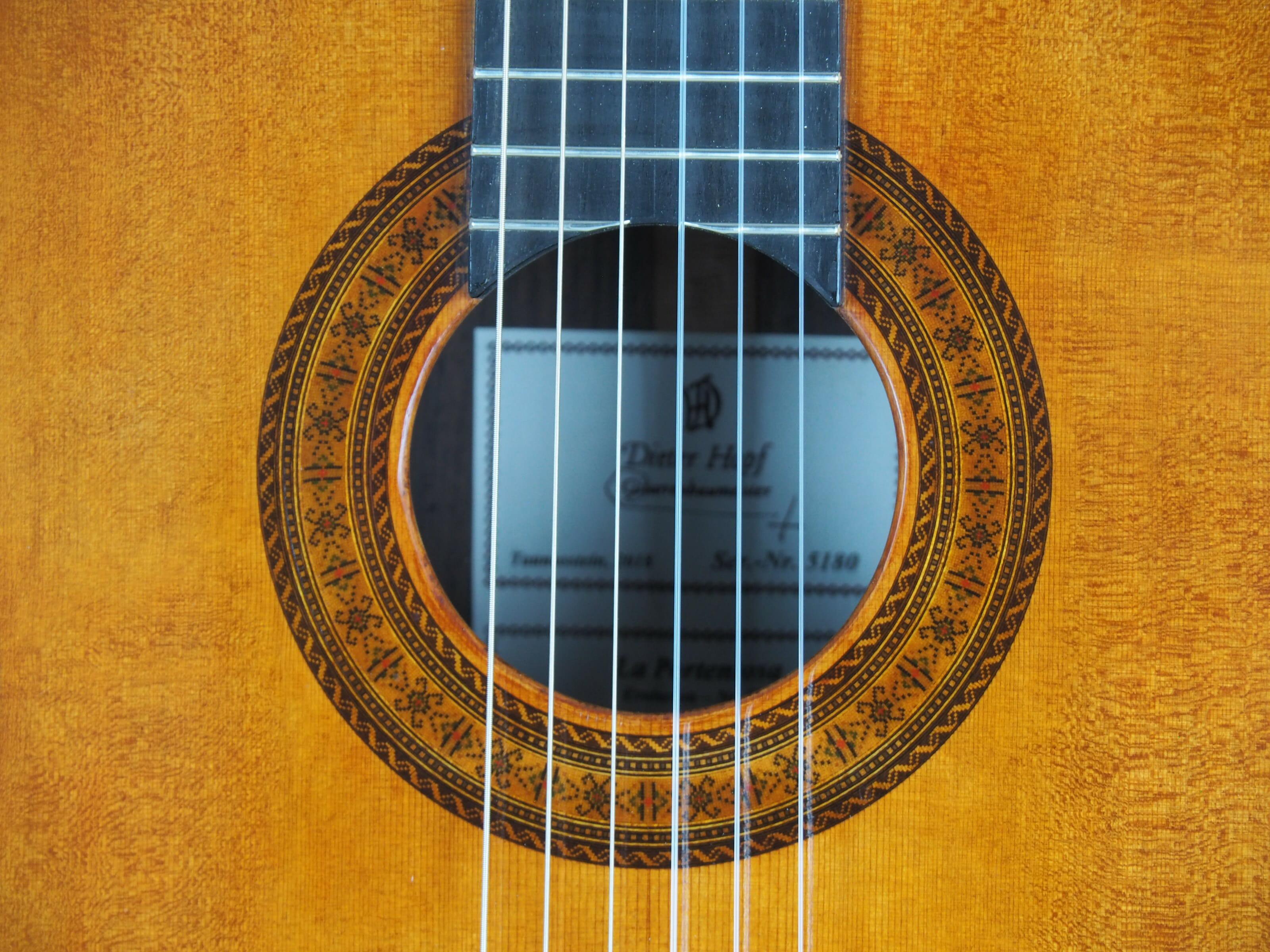 Dieter Hopf Luthier guitare classique Evolucion No 19HP180-11