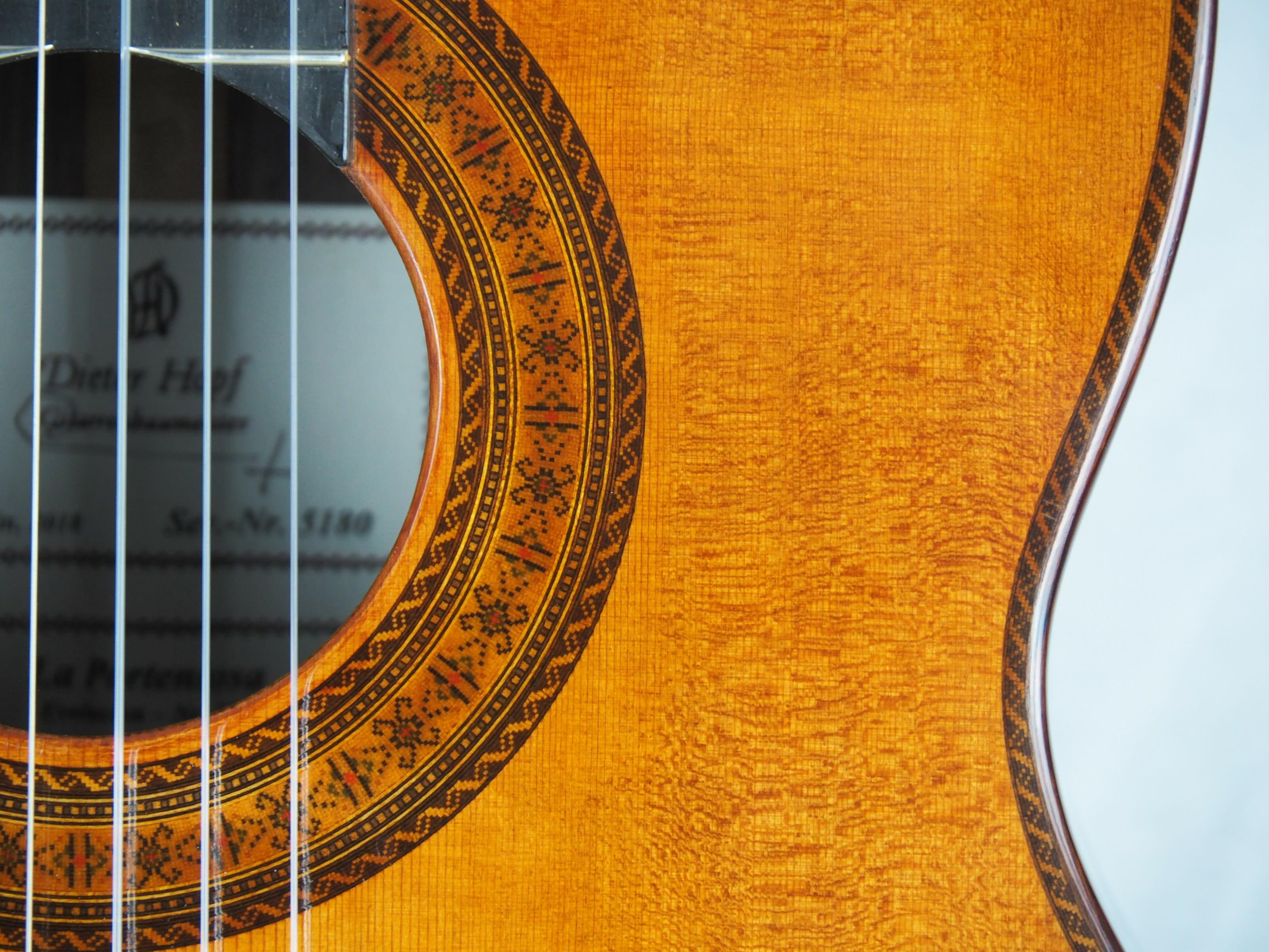 Dieter Hopf Luthier guitare classique Evolucion No 19HP180-09