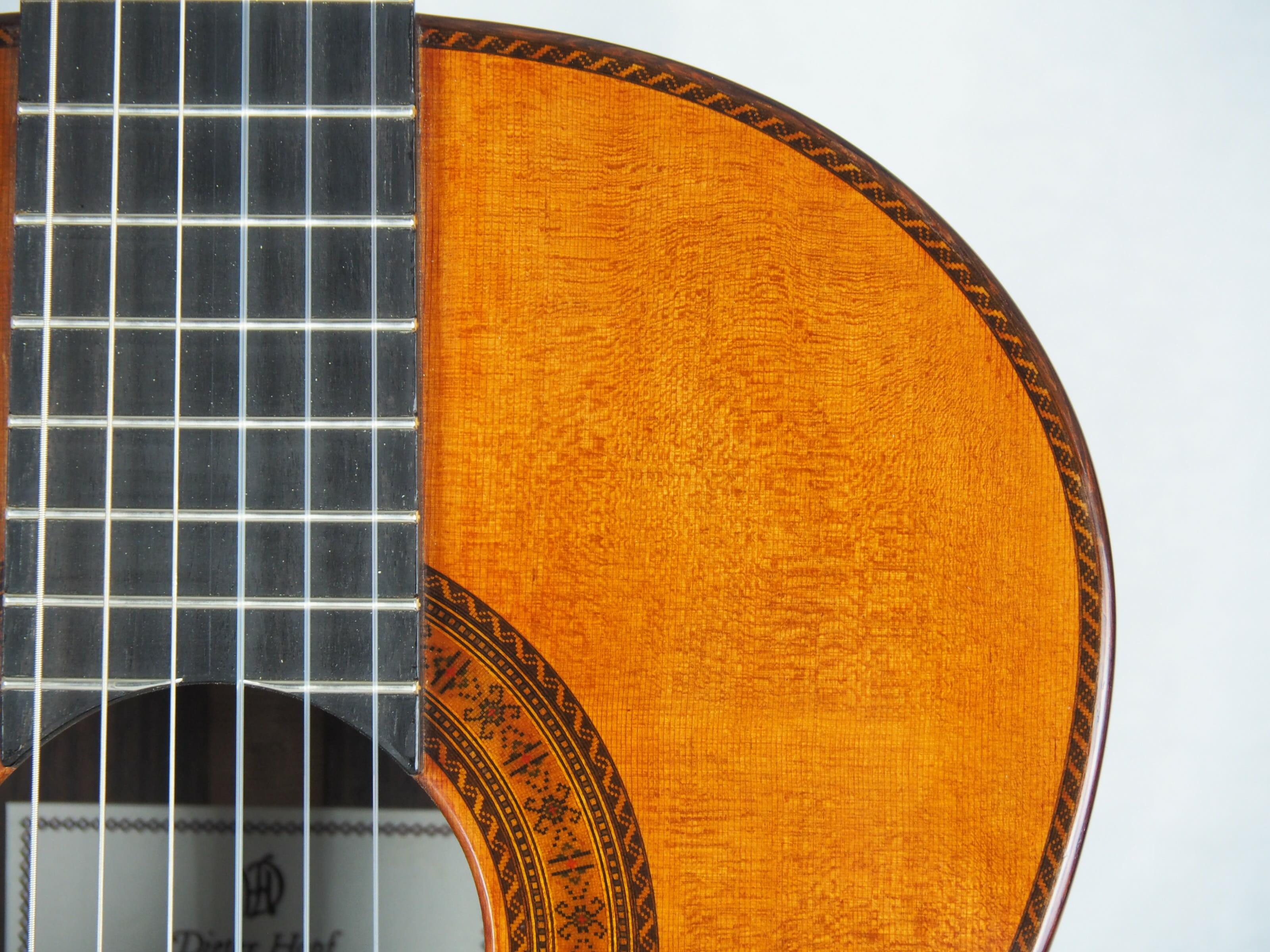 Dieter Hopf Luthier guitare classique Evolucion No 19HP180-08