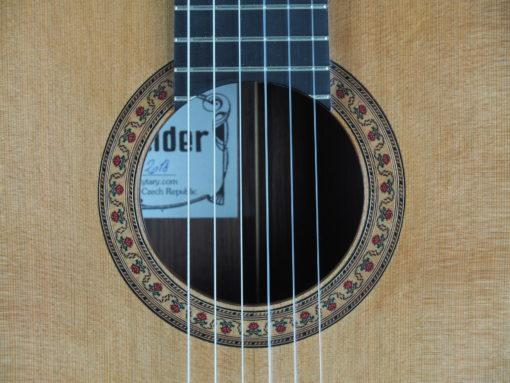 Jan Schneider guitare classique luthier No 19SCH454-05