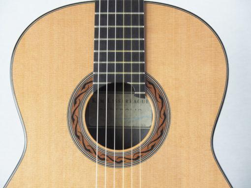 Kim Lissarrague guitare classique luthier No 317 19LIS317-07