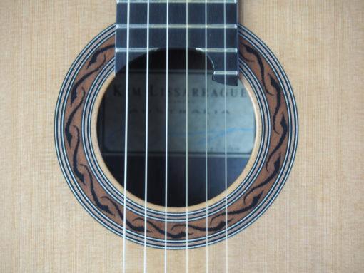 Kim Lissarrague guitare classique luthier No 317 19LIS317-06