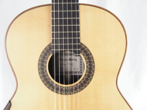 Luthier Simon Marty guitare classique 2019 19MAR019-09