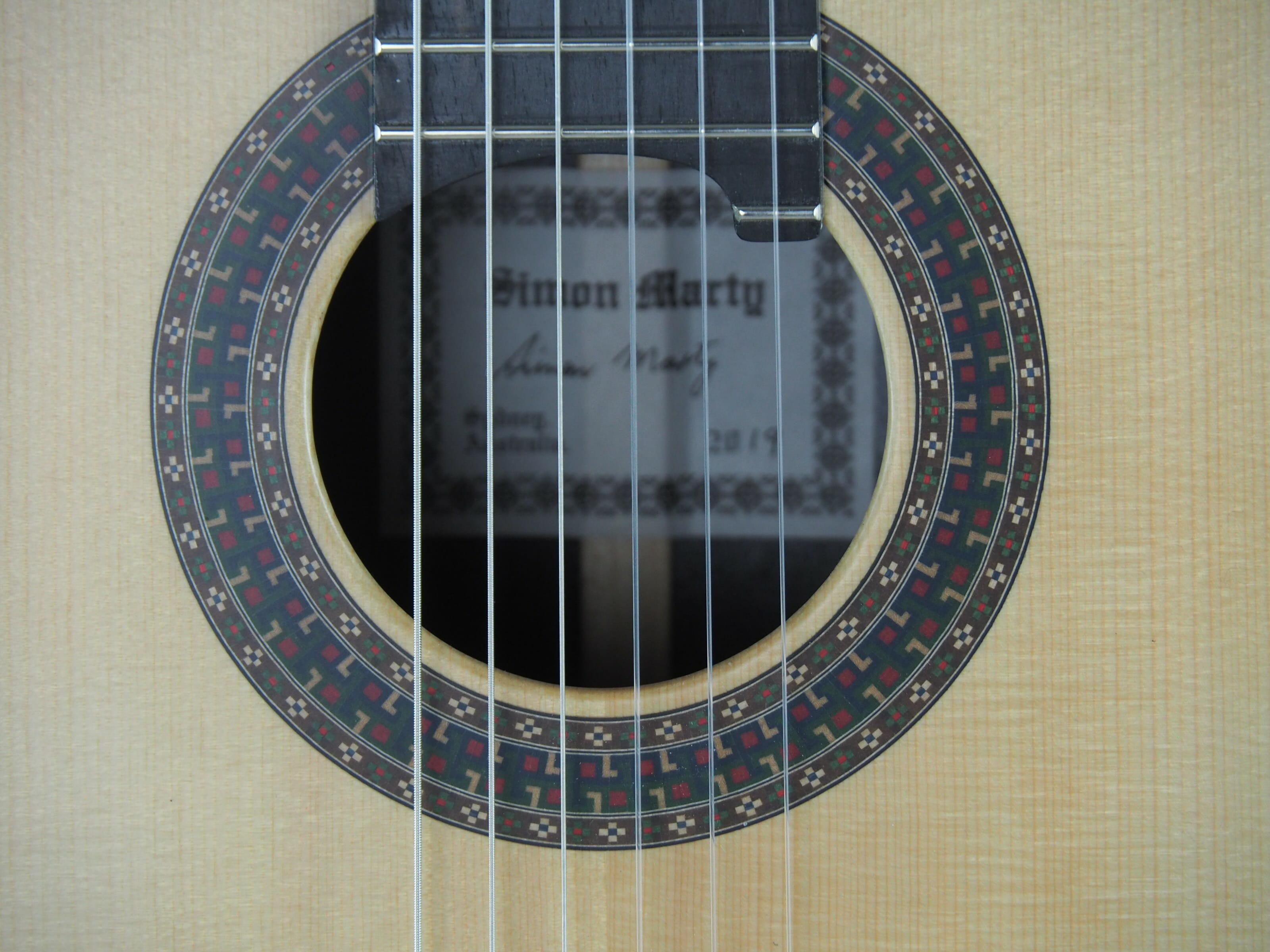 Luthier Simon Marty guitare classique 2019 19MAR019-08