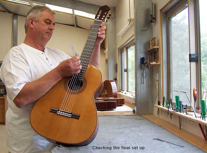 Luthier John Price - Australien - Lattice