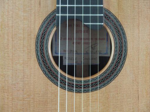 luthier Jean-Noel Lebreton Guitare classique www.guitare-classique-concert.fr 18LEB019-01