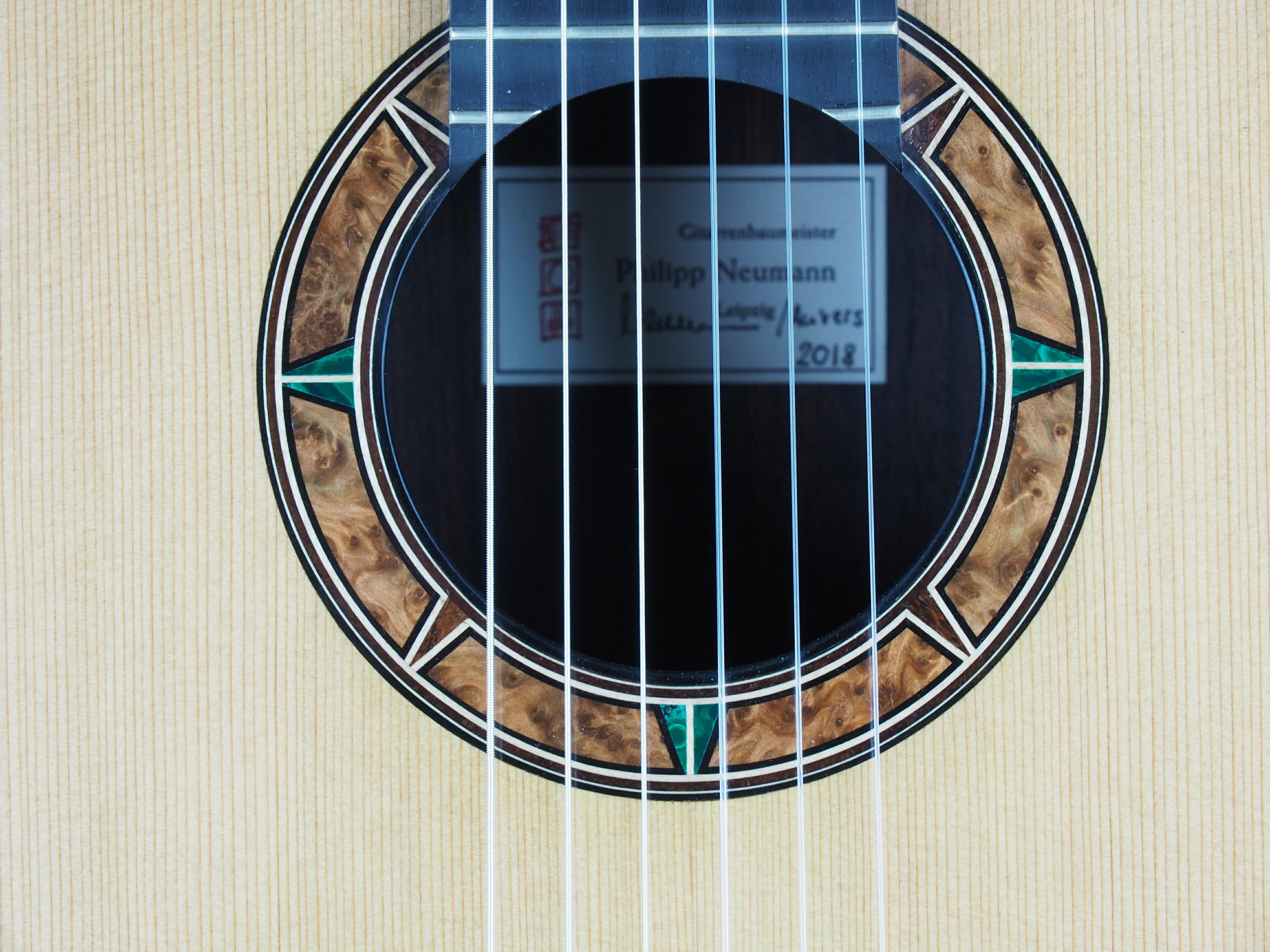 Luthier Philipp Neumann guitare classique 18NEU018-10