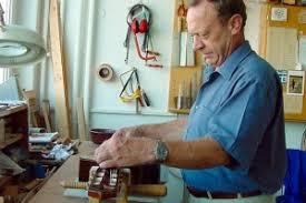 photo du luthier dieter hopf