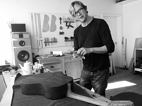 photo luthier carsten Kobs