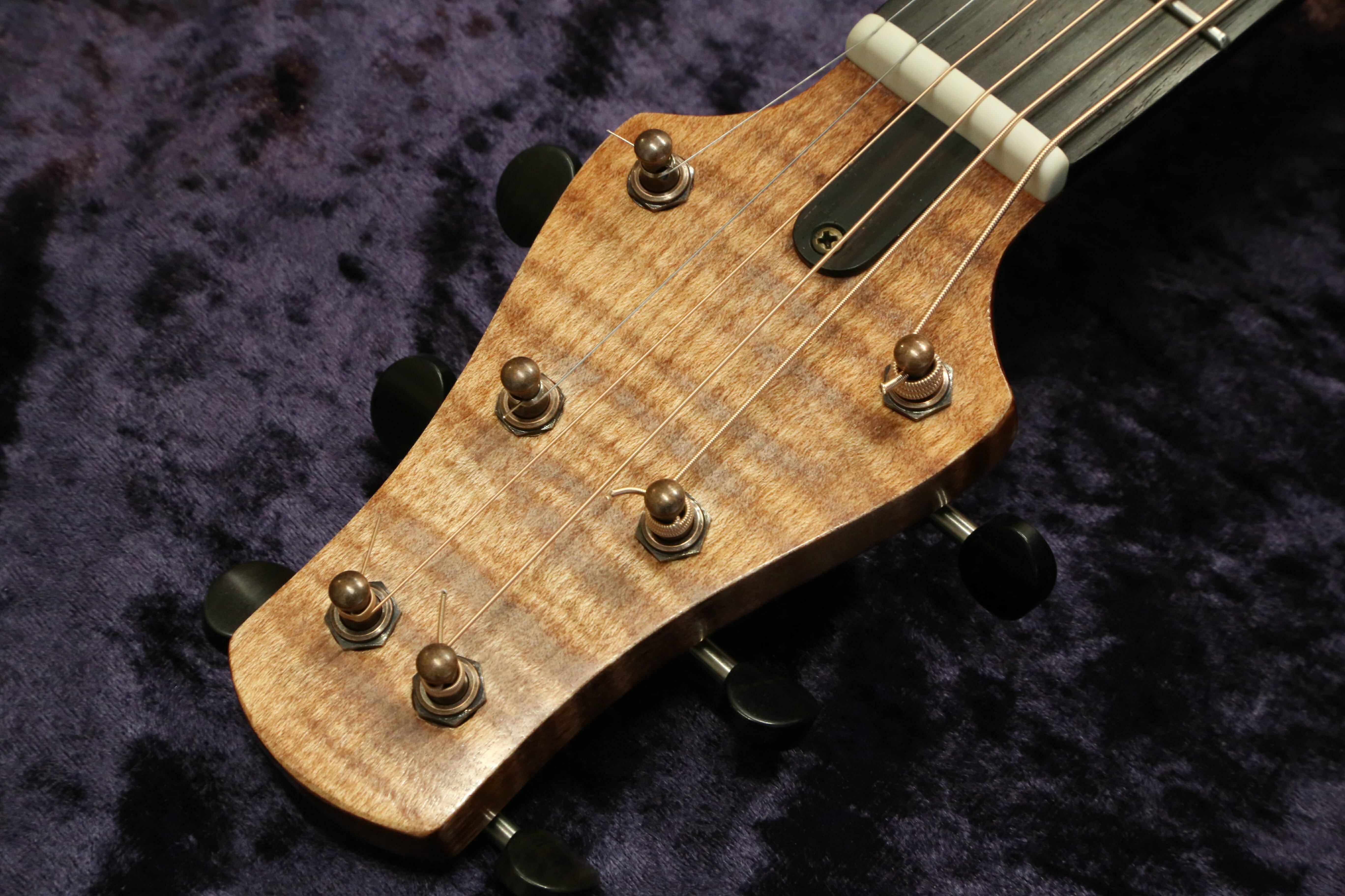 Luthier Régis Sala guitare acoustique 19SALSTE-06